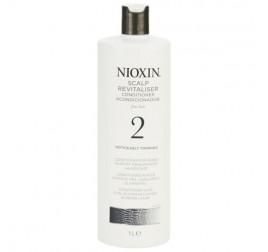 Nioxin System 2 Scalp Revitaliser Conditioner (麗康絲防脫髮2號護髮素)無電染過 (可見頭皮) 1000ML