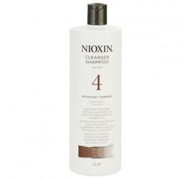 Nioxin System 4 Cleaner (麗康絲防脫髮4號洗髮水) 有電染過 (可見頭皮) 1000ML