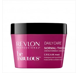 Relvon Professional beFABULOUS Daily C.R.E.A.M Normal/Thick Hair Mask (柔亮髮膜)200ML
