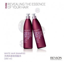 Revlon Professional ProYou White Hair 天然抗衰老洗髮水(350ML)
